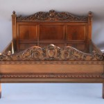 spanish revival bed